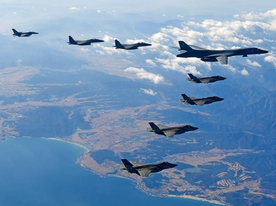 South Korea And US Air Forces Continues Largest Scale Air Combat Drill