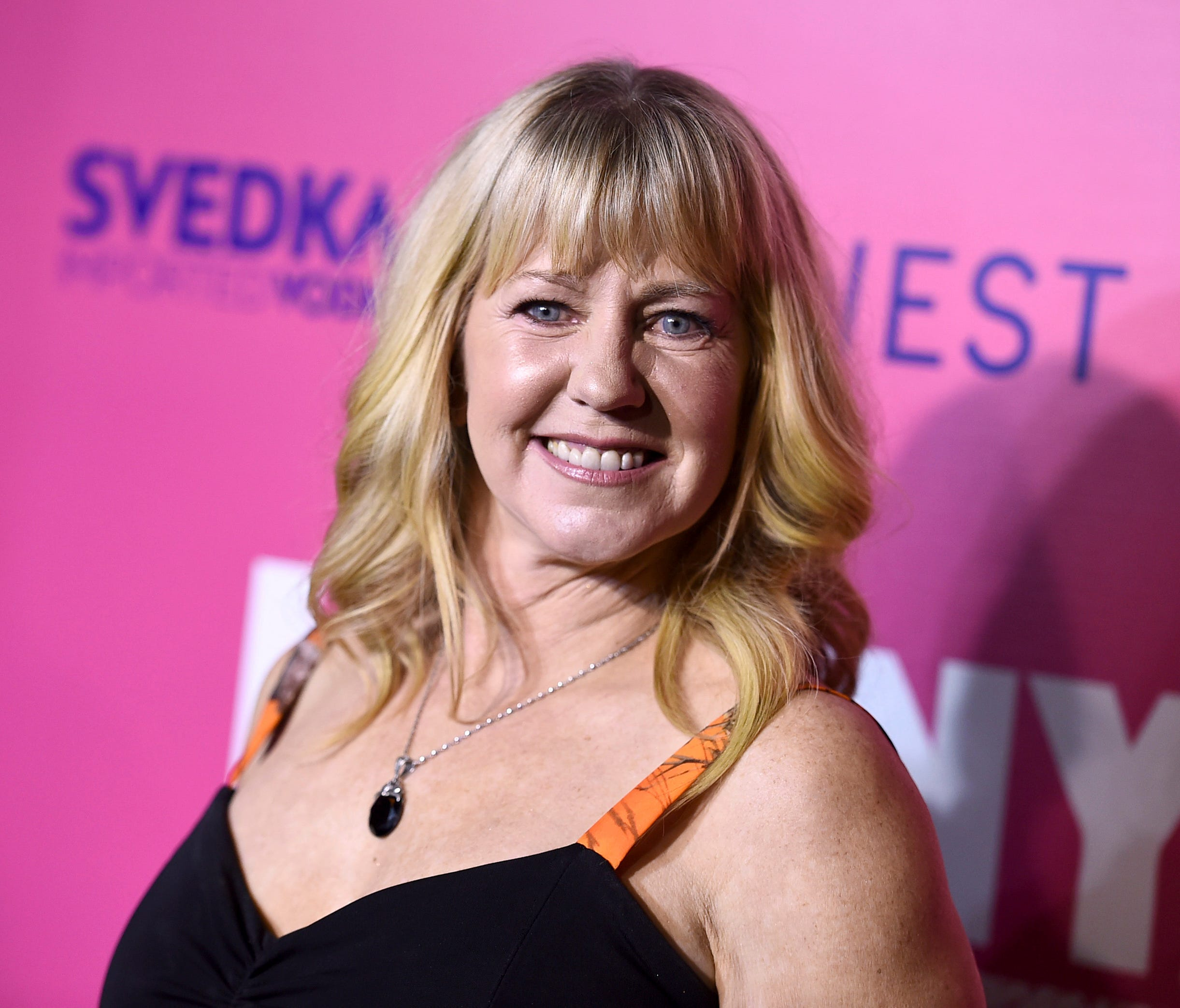 Tonya Harding arrives at the Los Angeles premiere of