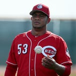 Southpaw Wandy Peralta impressing Reds