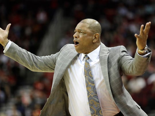 Clippers coach Doc Rivers.