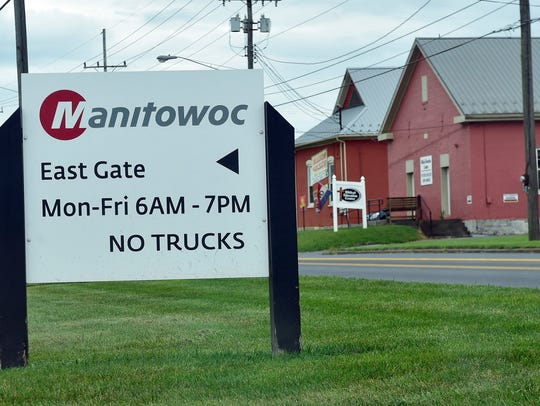 Manitowoc Company, located off Pa. 16 in Shady Grove,