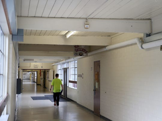 Central Kitsap Middle School, built in 1959, is slated