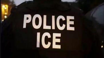 U.S. Immigration and Customs Enforcement agent.