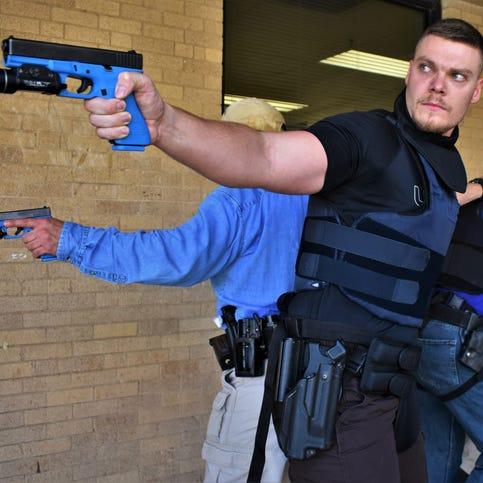 Local law enforcement agencies prepare for school shooting