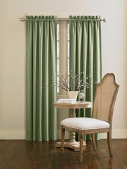 Window treatments should be cleaned once or twice a