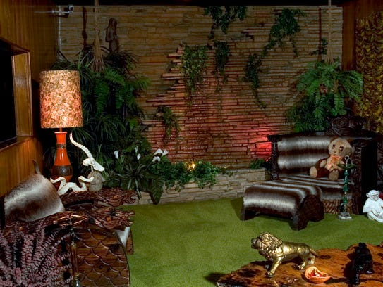 The Jungle Room in Graceland is a testament to the