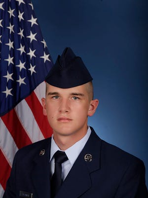 U.S. Air Force Airman Caleb T. Solomon