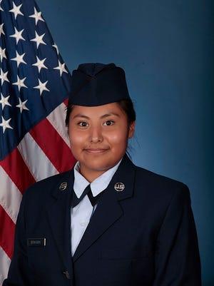U.S. Air Force Airman Danielle Edwards