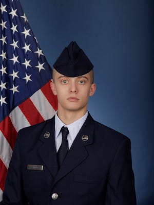 U.S. Air Force Airman Ian S. Reynolds