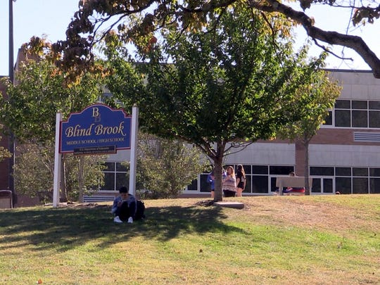 Blind Brook Middle/High School, photographed Oct. 2,