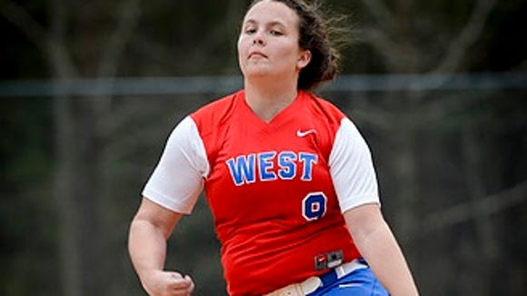 West Henderson senior Rachel Gillette has commited to play college softball for Columbia (S.C.).