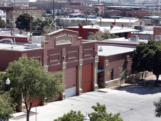El Paso Fire Station No. 11, at Leon Street and Overland Avenue, is within the area where the city has proposed building a new arena. The station opened in 2002 and cost the city $2.1 million to build.