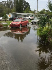 Martha Lee Avenue near Rockledge is one of several streets still dealing with flooding.