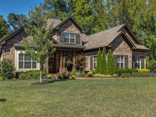 This four-bedroom, five-full-bath home in Arrington