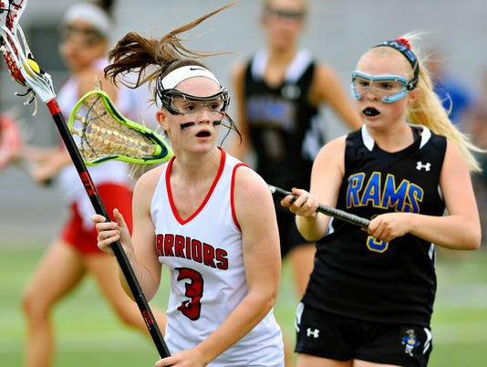 Susquehannock vs Kennard-Dale girls lacrosse championship