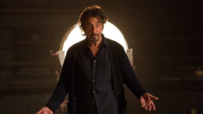 "Al Pacino is terrific as a past-his-prime actor in ""The Humbling."""