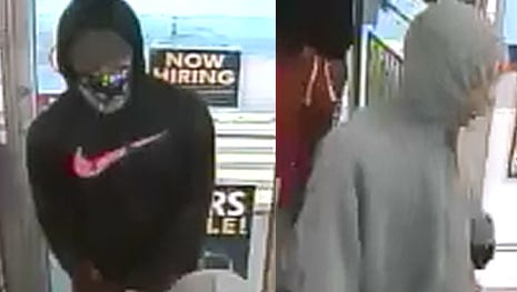Police are looking for these two men after an armed robbery Friday, July 7, 2017, at an Admiral gas station in Tippecanoe County.