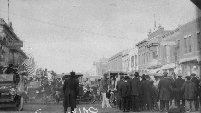 Havre celebrating at the end of World War I.