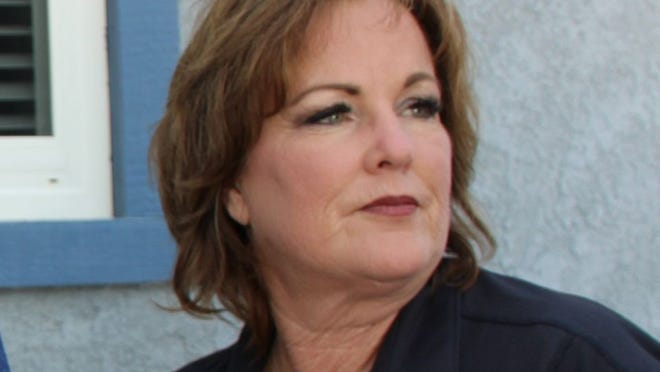 Senator Shannon Grove is seen on July 5, 2019 at the Inyokern Airport in this Daily Independent file photo.