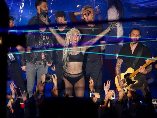 Lady Gaga at SXSW 2014