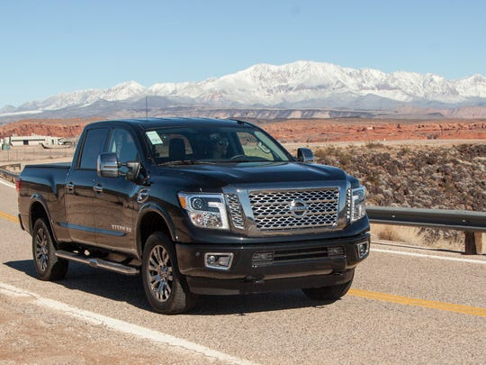 Spectrum reporter Nichole Osinski takes the new Nissan Titan out for a test drive Wednesday, Feb. 3, 2016.