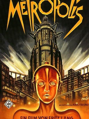 """A restored version of the 1927 science-fiction landmark """"Metropolis"""" played to a sell-out crowd at the Memphis Brooks Museum of Art."""