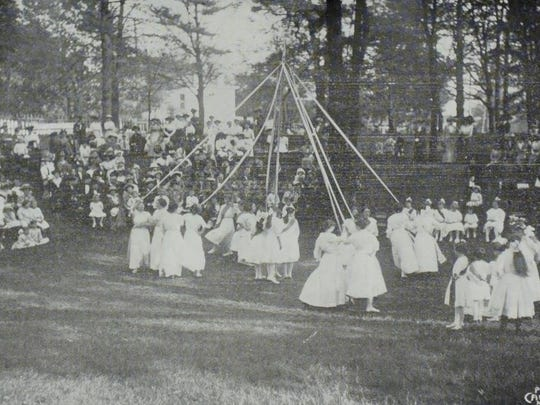 May festival at the Kentucky School for the Blind.