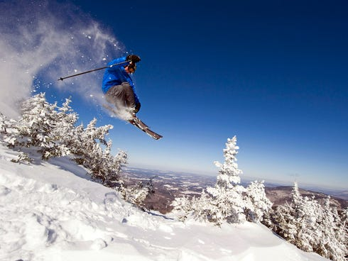 Smugglers' Notch, Vermont: An adrenaline connoisseur may pass over the Northeast altogether, but the folks at Smuggs are doing their best to make you think twice about that plane ticket to Colorado. New England's only triple black diamond run is here