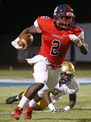 Since decommitting from Boise State, Peoria Centennial All-Arizona running Zidane Thomas has picked up offers from San Diego State, Illinois and is receiving interest from Louisville.