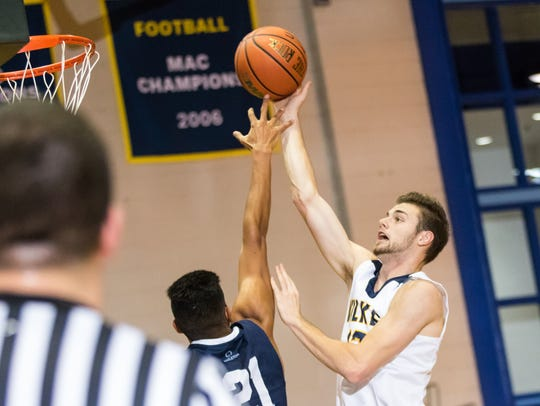 Chenango Valley graduate Mark Mullins is averaging 19.8 points for Wilkes University.