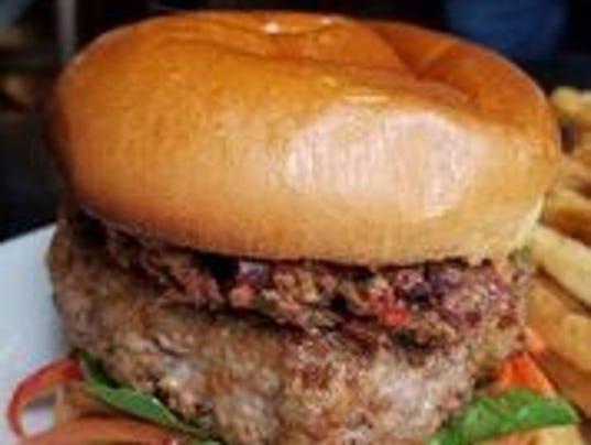 Braun's lamb burger