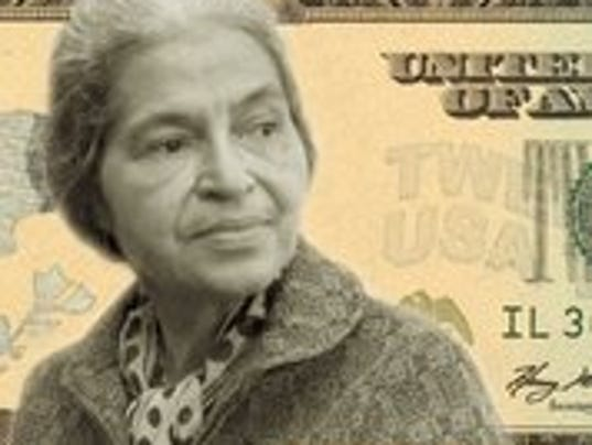What kind of thesis can I write on Rosa Parks?
