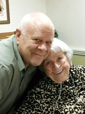 Mike Knudsen and his mother, Barbara Denny, were reunited last weekend at her home in Salt Lake City. Knudsen thought his mother had abandoned him, but she never gave up trying to connect with him.