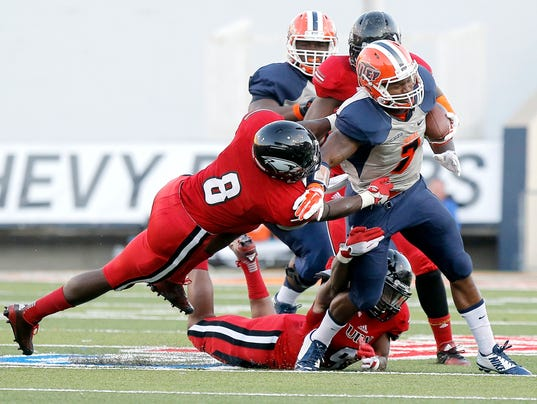 UTEP Incarnate Word University Football 11