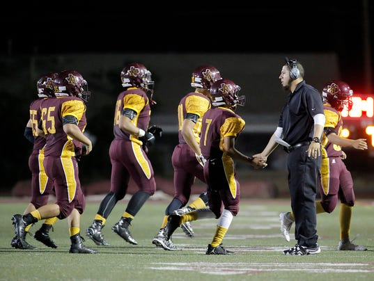 HS Football Andress 8