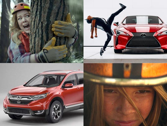Photos: how automakers hope to score with Super Bowl ads