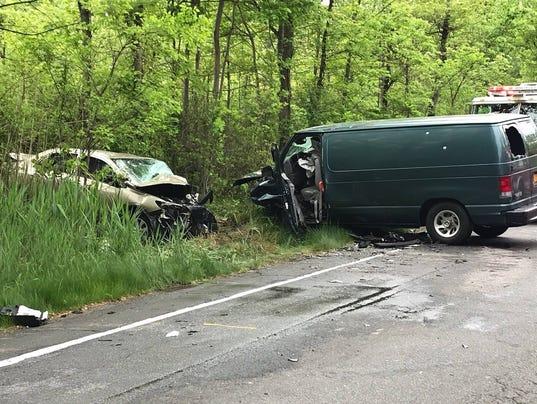 Route 45 crash