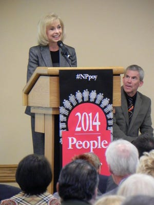 Robbie Roepstorff, President, Edison National Bank named 2014's Person of the Year
