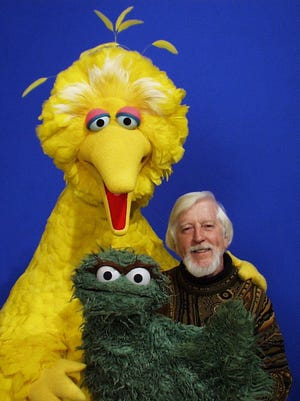 Caroll Spinney, the man inside Big Bird from the beginning, will take part in the Public Square Speakers Series tonight at the Jean and Paul Amos Studio.