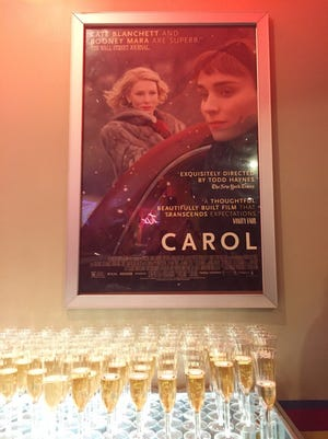 "The Esquire Theatre hosted Saturday's special screening of ""Carol."""