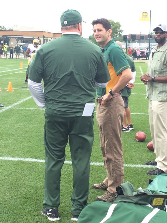 Paul Ryan, Mike McCarthy