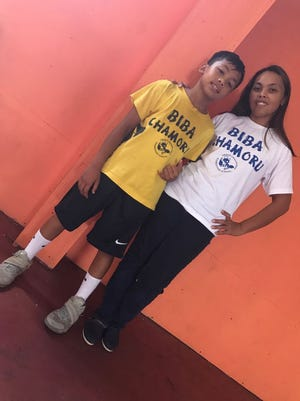Maria T. Camacho Quintanilla, who organized the Spring Break Hoops Bash for her son Geordan, said it's been a fun and active week.