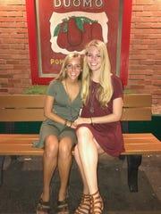 The last photo of Karli and Kelsey Richardson taken