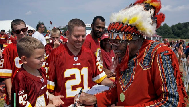 The Redskins continue to be criticized for not changing their team name and imagery.