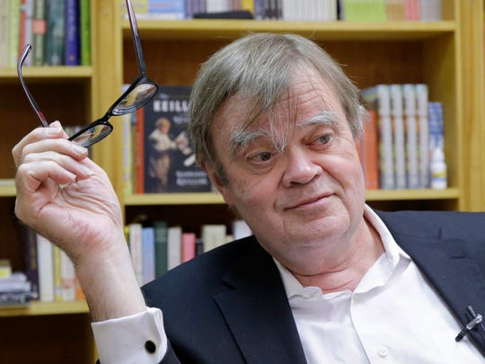 Garrison Keillor launched his current tour in early August just after his 75th birthday. He says this tour will be his last.