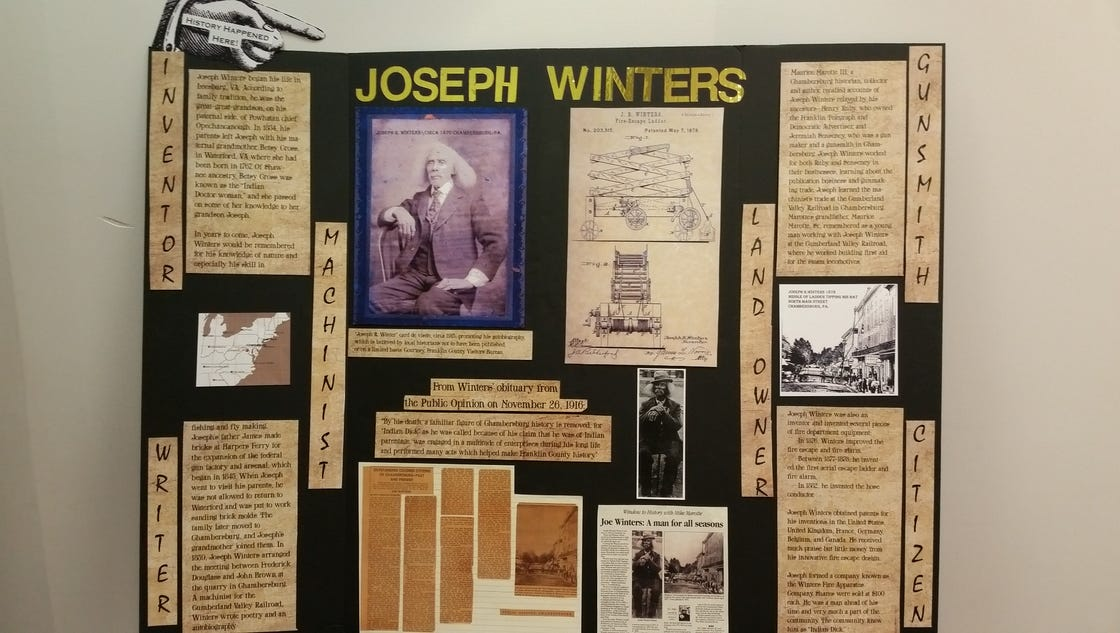 Joseph Winters Fire Escape Ladder : Fcvb honors black history with joseph winters display