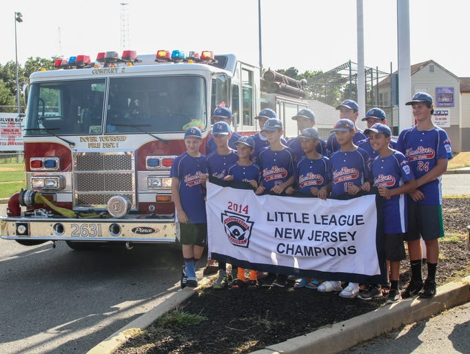 Toms River, NJ -  The Toms River Little League team after their return home from Connecticut.