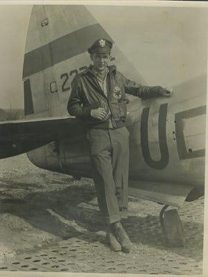 Carol Ponder's father, Lt. Herschel Ponder, during World War II.