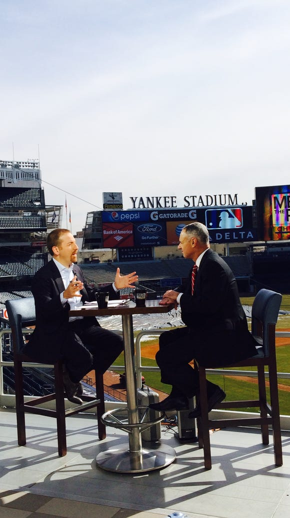 "MLB commissioner Rob Manfred's interview on NBC's ""Meet"