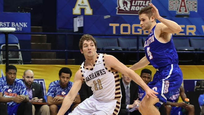 Senior point guard Nick Coppola is ULM's all-time leader in assists and minutes played and has a shot at other records before he finishes his career.